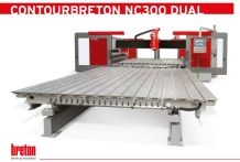Contourbreton NC 300 DUAL Double table CNC Stone Router