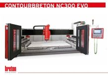 CONTOURBRETON NC 300 EVO 4-axes CNC machining center