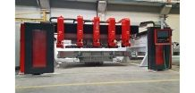 HURACAN cutting line with pre-cutting and chamfering