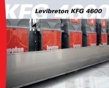 LEVIBRETON KFG 4600 Belt polisher for marble slabs