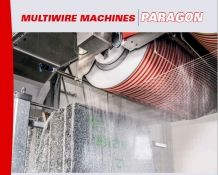 Paragon 2100/6/F30/56 Evo Multi Wire Saw Machine for Marble,Granite Block Cutting