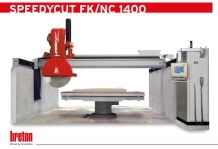 SPEEDYCUT FK/NC 1400 cnc stone bridge saw