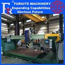 FRT-350B steel frame tilt rotate head bridge saw granite marble stone cutting machine