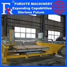 FRT-450/600 steel frame infrared laser bridge saw stone cutting machine full automatic marble granite board sheet slab