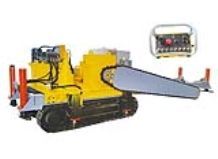 Crawler type chain saw