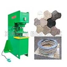 Granite stone stamping machine for making pavers