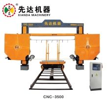 DIAMOND WIRE SAW MACHINE FOR SQUARING, PROFILING CNC-3500