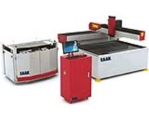 Water jet cutting machine for stone cutting