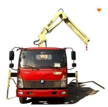 3.2 Ton knuckle Boom Truck Mounted Crane