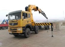China Supplier 20 Ton Electric Engine Truck Mounted Crane