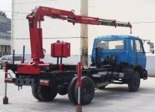 Hydraulic System Folding Arm Tractor Truck Mounted Crane