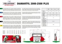 DIAMANTFIL DF 2000-2500 PLUS Single wire saw for blocks,slab