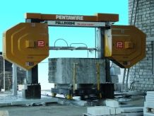 Pentawire Multiwire Machine to cut slabs