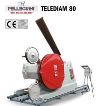 TELEDIAM 80 TD 80 Diamond wire saw for cutting large benches