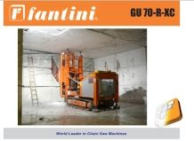 GU50-SC Sawmill Machine for Tunnels